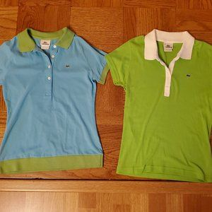 Excellent Lots of Lacoste Polo Shirt Women Size 38